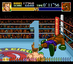 Super Punch-Out!! - Battle  - Loser lost in two big shots  - User Screenshot